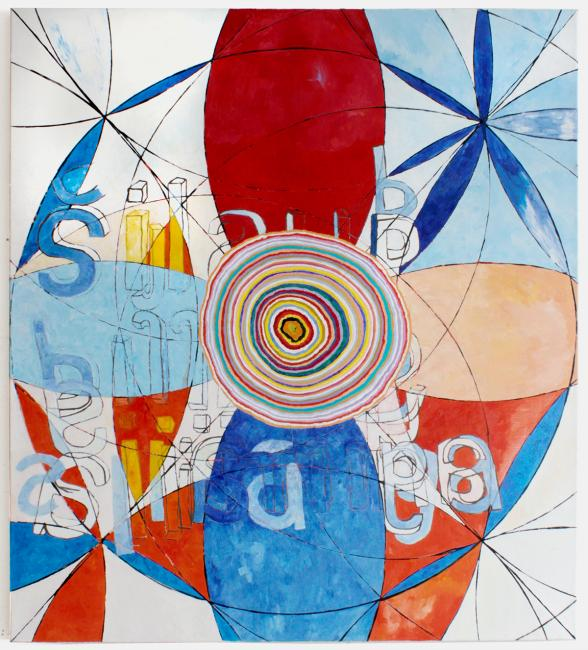 Compass Paintings 1, 145 x 130cm
